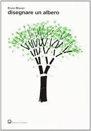 "Portada libro ""Dibujar un árbol"", de Bruno Munari (1977)"