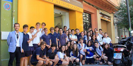 Ausiàs March visita Instituto INTER