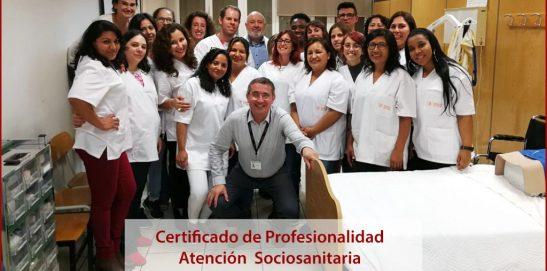 Finaliza el curso de Certificado At. Sociosanitaria tardes