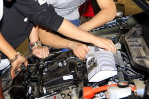 Practical Course in Electronics and Hybrid Car