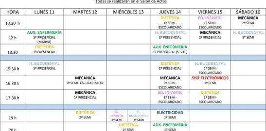 PRESENTACIONES CURSO 2017– 2018
