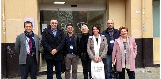 Erasmus+, visita de delegación belga