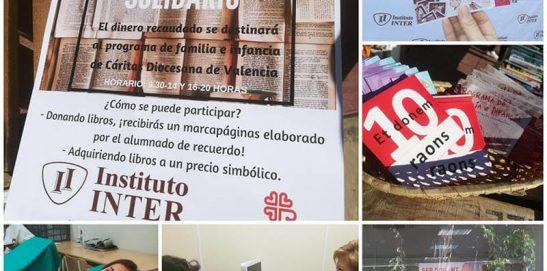 INCREÍBLE ACOGIDA DEL PRIMER MERCADILLO LITERARIO SOLIDARIO