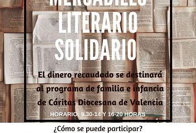 MERCADILLO LITERARIO SOLIDARIO