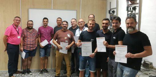 Finalización Certificado de Profesionalidad Frigorista