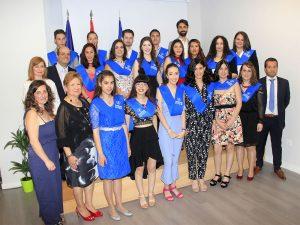 3_Graduación CFGM Aux. Enfermería Promoción 2016-18 Instituto INTER Grupo3