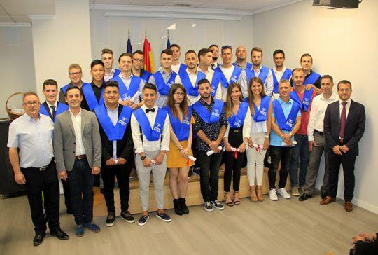 Graduación CFGM Automoción 2017-18 Presencial Instituto INTER