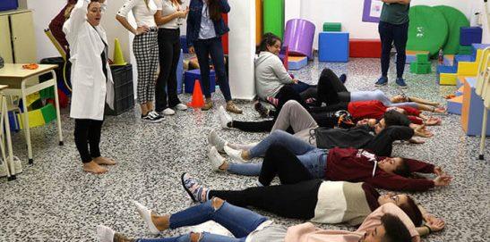 3_Clase práctica de psicomotricidad en CFGS Educación Infantil - Instituto INTER