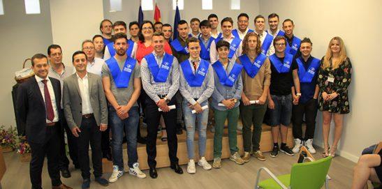 Graduación CFGM Automoción 2017-18 Semipresencial Instituto INTER