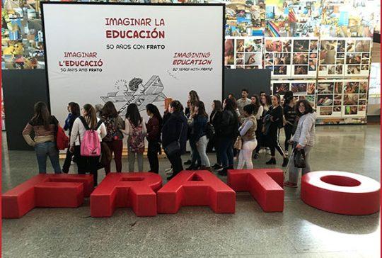 Alumnos CFGS Ed. Infantil INTER visitan exposición de Frato