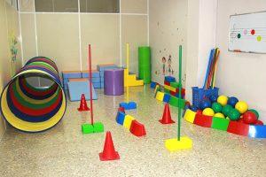 Aula de psicomotricidad del CFGS Educación Infantil INTER