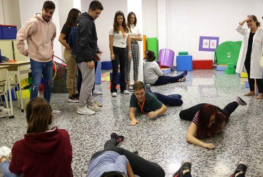 5_Clase práctica de psicomotricidad en CFGS Educación Infantil - Instituto INTER