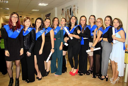 Graduación alumnas INTER del Certificado de Profesionalidad de Dinamizador de Tiempo Libre