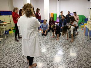 7_Clase práctica de psicomotricidad en CFGS Educación Infantil - Instituto INTER