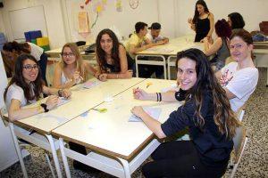 Alumnos INTER de Dinamizador de Tiempo libre Infantil y juvenil durante clase