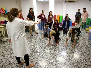 9_Clase práctica de psicomotricidad en CFGS Educación Infantil - Instituto INTER