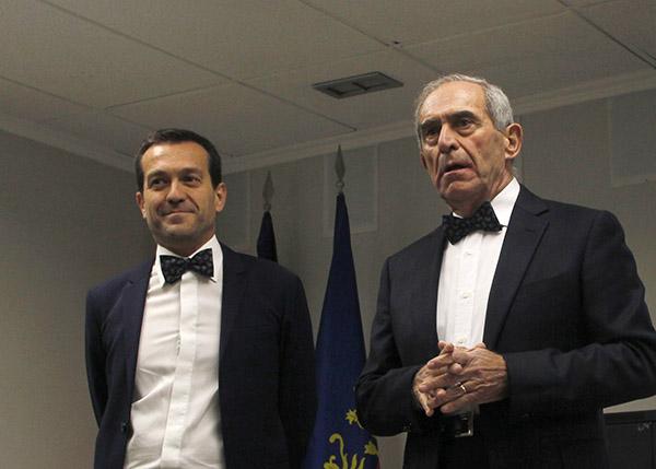 D. Miguel Mollá y D. Javier Mollá - Instituto INTER