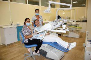 4_Clase práctica de limpieza bucodental en Instituto INTER