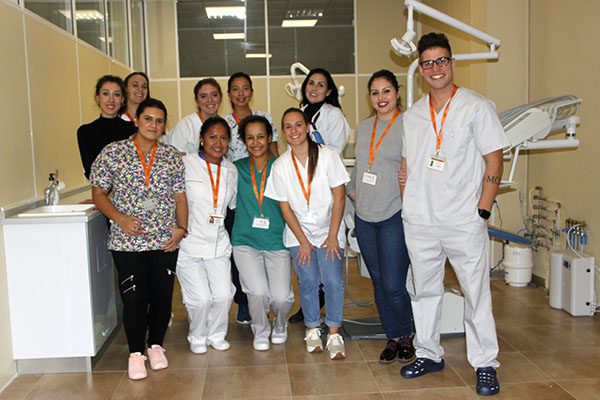 Alumnos de CFGS Higiene Bucodental Instituto INTER