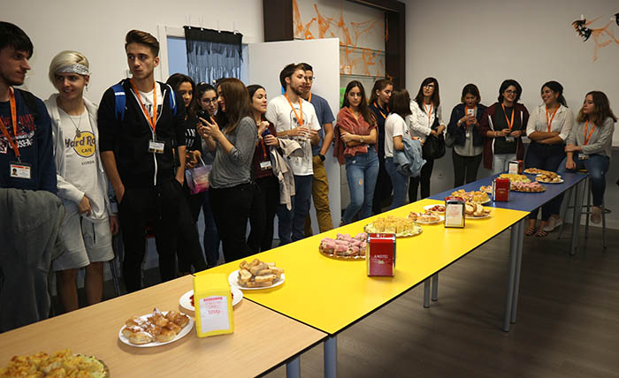 Catering Difusión Proyecto Erasmus+CULINARY TRIP THROUGH EUROPE
