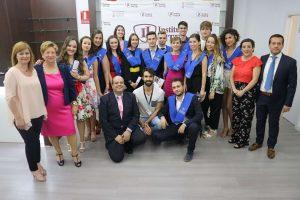 1_Graduación CFGM Aux. Enfermería Promoción 2016-18 Instituto INTER Grupo1