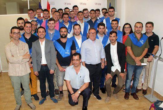Graduación CFGM Automoción 2016-17 Instituto INTER
