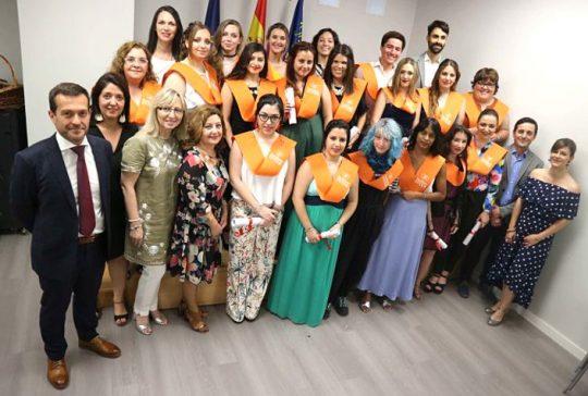 Graduación CFGS Educación Infantil 2018 Instituto INTER