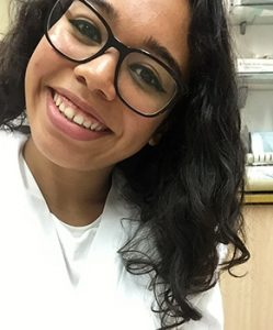 Paola Génesis, alumna INTER del ciclo superior Higiene Bucodental