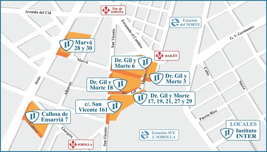 Plano locales INTER