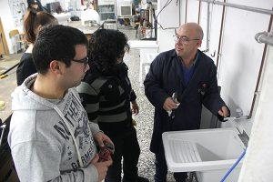 15_Clases Prácticas en taller Fontanería de Instituto INTER