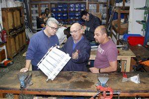 1_Clases Prácticas en taller Fontanería de Instituto INTER