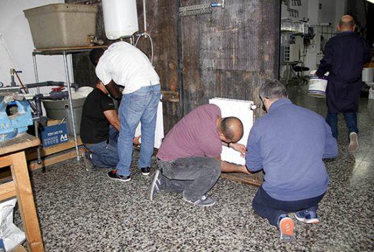 2_Clases Prácticas en taller Fontanería de Instituto INTER
