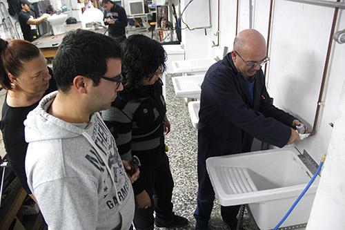3_Clases Prácticas en taller Fontanería de Instituto INTER