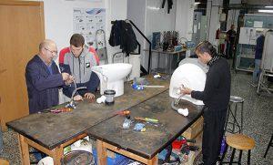 4_Clases Prácticas en taller Fontanería de Instituto INTER