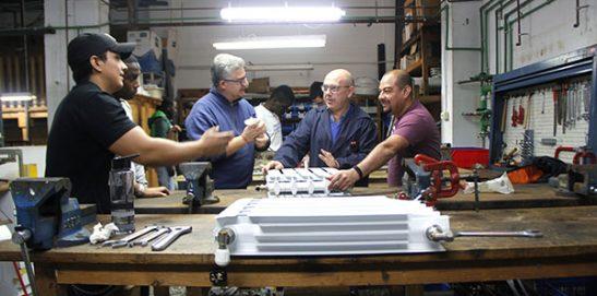 10_Clases Prácticas en taller Fontanería de Instituto INTER