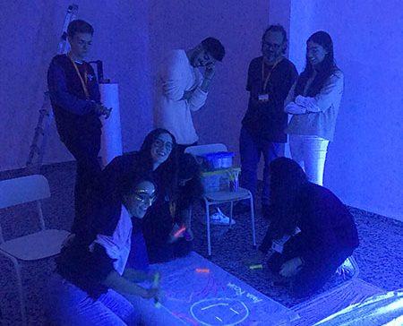 17_Taller luz Ed Infantil INTER, basada en la pedagogía de Reggio Emilia