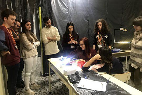 9_Taller luz Ed Infantil INTER, basada en la pedagogía de Reggio Emilia