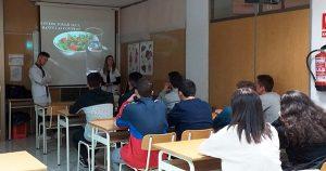 2Talleres educación nutricional alumnos de 2º Dietética INTER