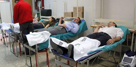 Éxito en la campaña donación de sangre