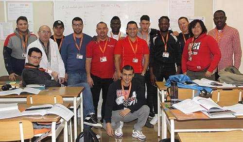 Alumnos INTER Fontanería 2018-19