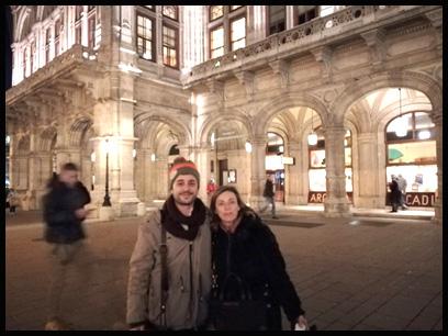 Jesús Sanchis y Mª José García en reunión transacional en Viena
