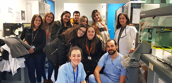 1ºCFGS Bucodental Instituto INTER en Biobanco de la Fe