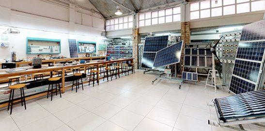 Taller Instituto INTER Instalaciones Solares Térmicas y fotovoltaicas