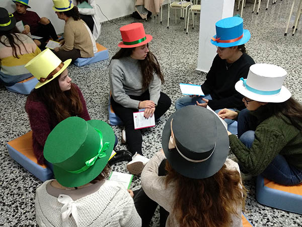 Inst INTER - Resolución de conflictos técnica 6 sombreros de colores_5
