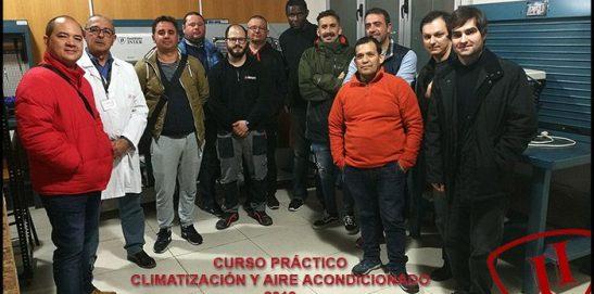 Finaliza el curso práctico de Climatización y Aire Acondicionado