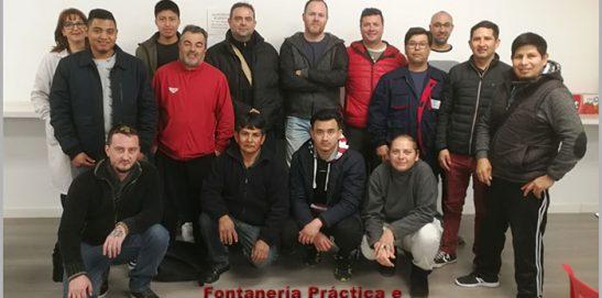 Finaliza un nuevo curso de Fontanería Práctica