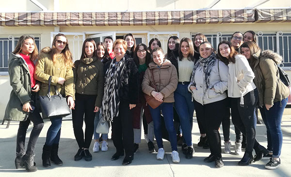 3_Alumnos de Aux. Enfermería INTER visitan la fundación Fco. Esteve