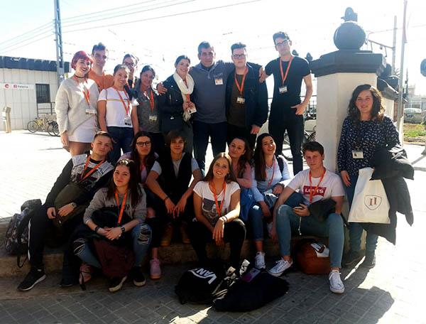 2_Alumnos de Aux. Enfermería INTER visitan la fundación Fco. Esteve