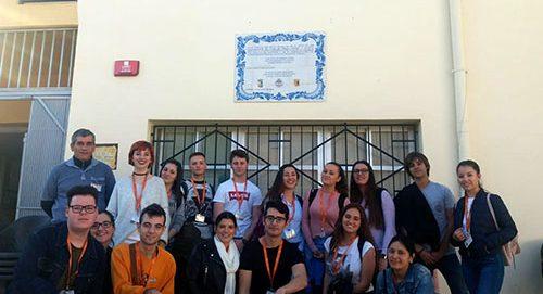 Auxiliar de Enfermería visita la Fundación Fco. Esteve