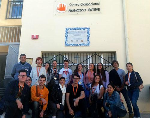 1_Alumnos de Aux. Enfermería INTER visitan la fundación Fco. Esteve